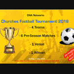DNA Networks Churches Football Tournament 2016