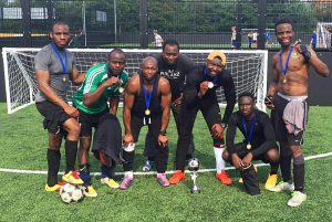 Winner - DNA 5-a-side Tournament 2016